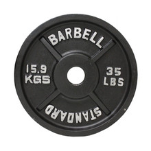 35 lb. Troy USA Sports Standard Olympic Weight Plate