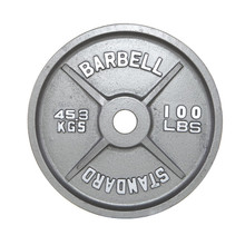 100 lb. Troy USA Sports Olympic Plate
