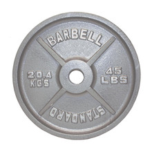 45 lb. Troy USA Sports Standard Olympic Plate