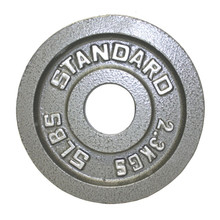 5 lb. Troy USA Sports Olympic Standard Plate