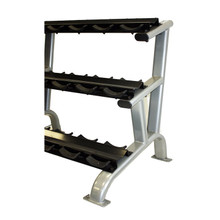 Troy Three-Tier Dumbbell Weight Rack with Saddles