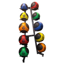 TAG (4-30 lb) Medicine Balls with Rack