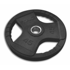 TAG Fitness Rubber Coated Olympic Grip Plates