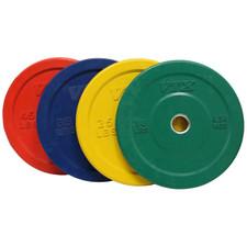 Troy VTX Colored Rubber Bumper Plates