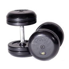 Troy Rubber Coated Pro-Style Dumbbells