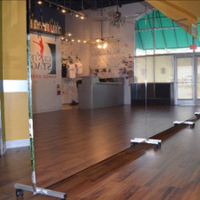 Glassless Rolling Dance Studio Mirrors