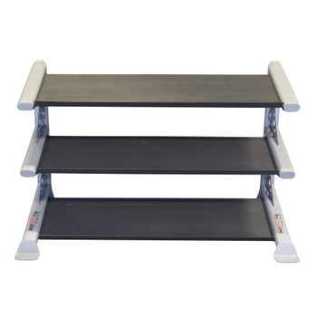 Body Solid 3-Tier Shelf Dumbbell Rack