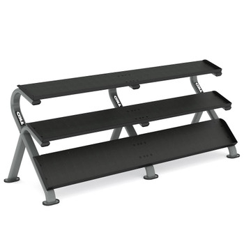 TKO Mega 3-Tier Dumbbell Shelf Rack