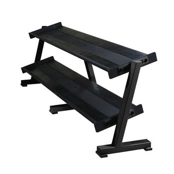 York (#69128) 2-Tier Dumbbell Shelf Rack