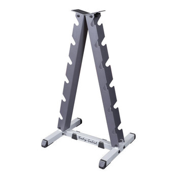 Body Solid (#GDR44) A-Frame Dumbbell Rack