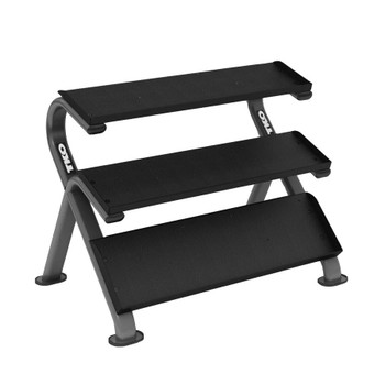 TKO (#890HDR) 3-Tier Shelf Dumbbell Rack