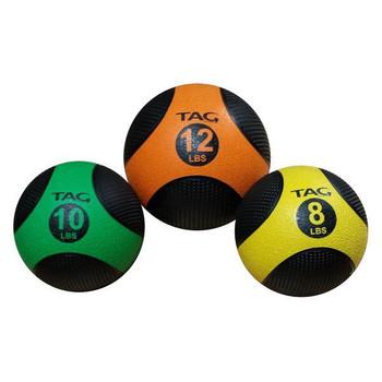 TAG Fitness Rubber Medicine Balls