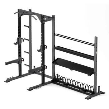TKO (#921HR-STRG) Gym Half Rack w/ Storage