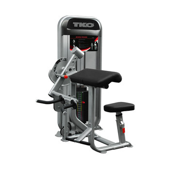 TKO (#8803) Dual Bicep/Tricep Weight Machine