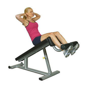 Inflight Fitness (#5001) Ab Decline Weight Bench