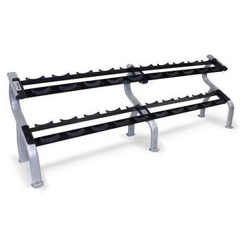 Troy (#DR-10) 2-Tier Dumbbell Saddle Rack