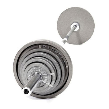 Troy USA Sports Gray Iron Olympic Weight Set