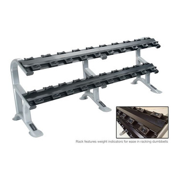 York (ETS) 2-Tier Dumbbell Saddle Rack