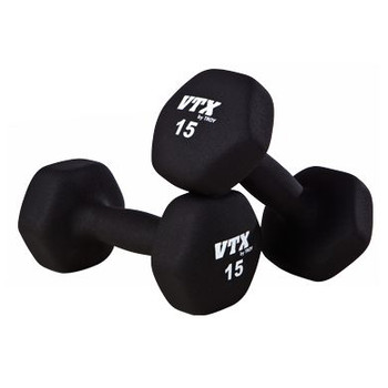 Troy VTX Neoprene Covered Dumbbells