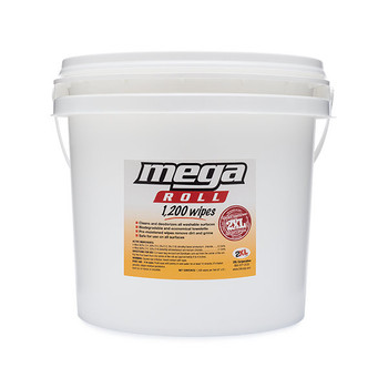 2XL-419 Mega Roll Gym Wipes Bucket