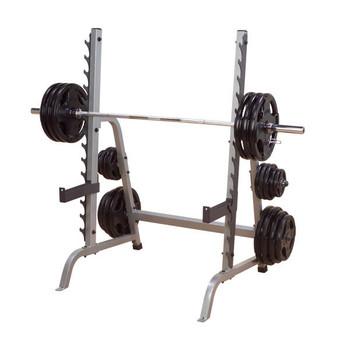 Body-Solid (#GPR370) Multi-Press Squat Rack