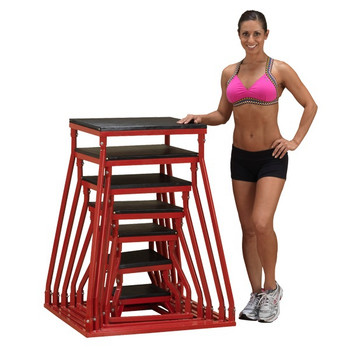 Body Solid (#BSTPB) Steel Plyo Boxes