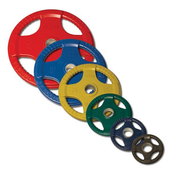 Body Solid Colored Rubber Coated Grip Plates