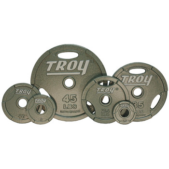 Troy (#GO) Machined Olympic Grip Plates