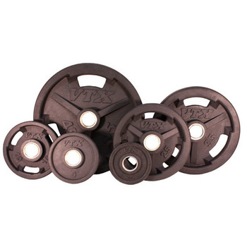 Troy VTX Rubber Coated Olympic Grip Plates