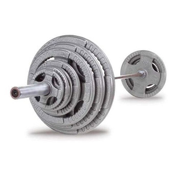 Body Solid Cast Iron Olympic Weight Set