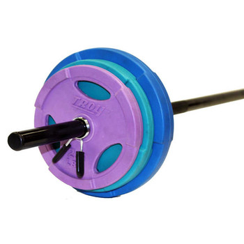 Troy Barbell 40 lb Colored Cardio Pump Set