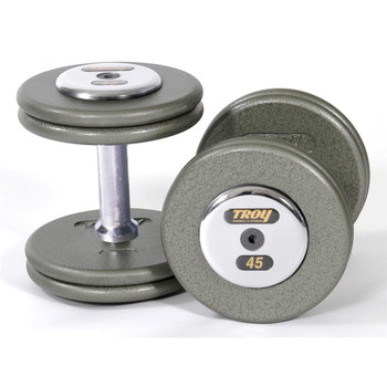 Troy Gray Pro Style Dumbbell Weights