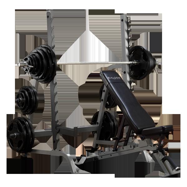 Body-Solid (#SDIB370) Bench/Rack Combo