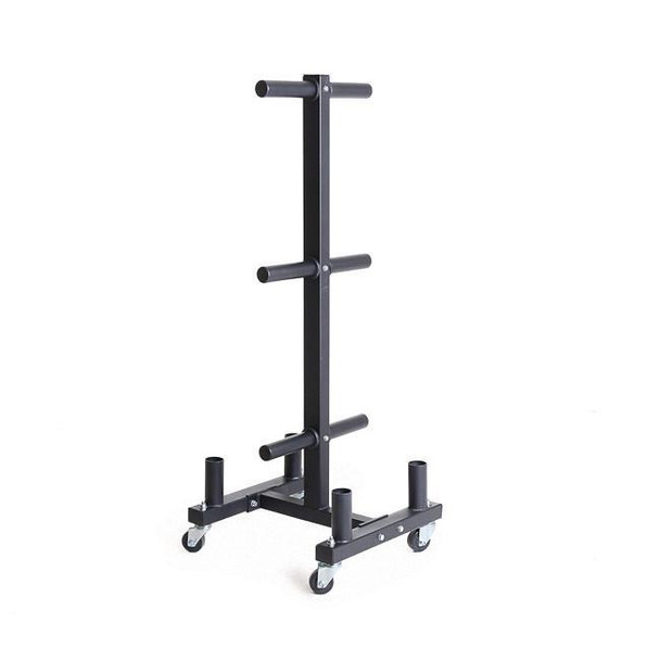 Xtreme Monkey XM-4369 Rolling Weight Plate Rack w/ Bar Holders