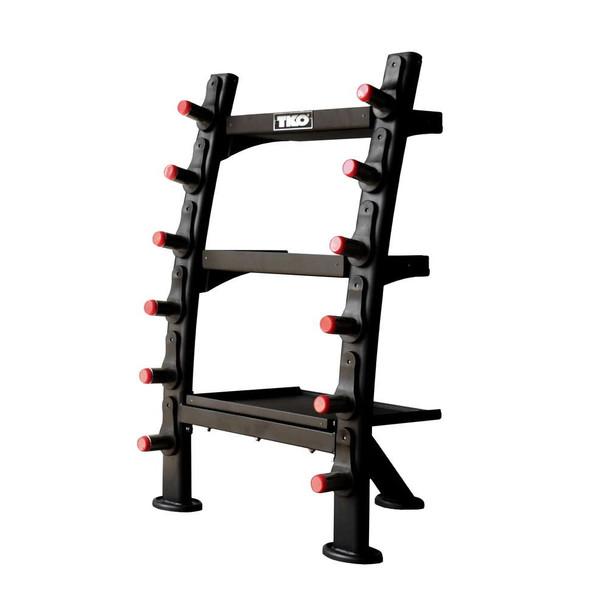 TKO (#848ACR-B) Gym Accessory Rack