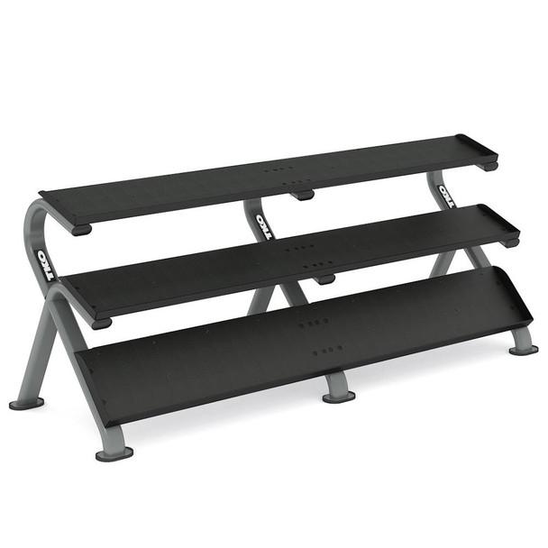 TKO Mega 3-Tier Dumbbell Shelf Rack