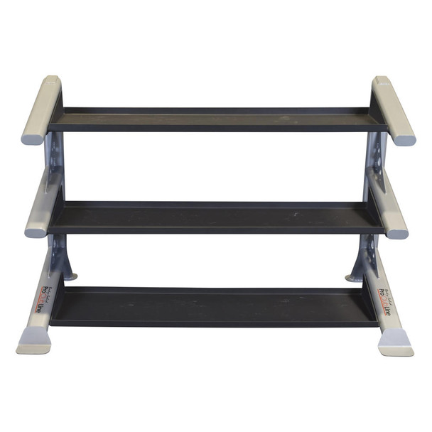 Body Solid 3-Tier Gym Kettlebell Rack