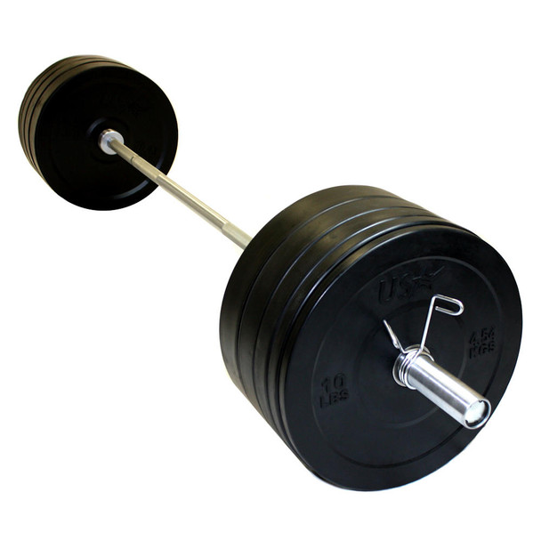 Troy USA Sports Bumper Weight Set w/ Bar