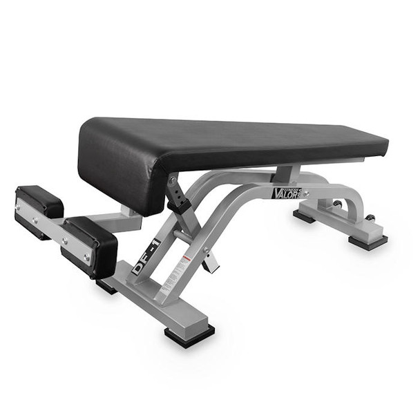 Valor Fitness (#DF-1) Adjustable Decline Bench