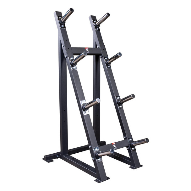 Body Solid GWT76 Weight Plate Rack