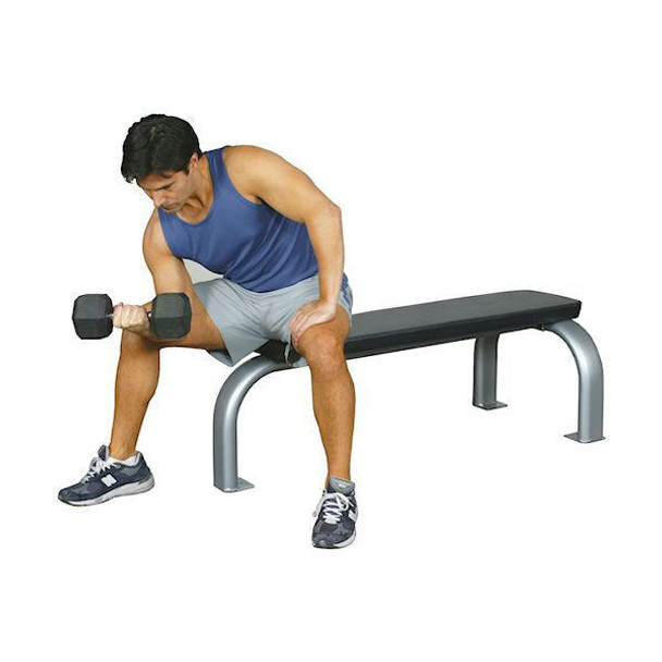 Inflight Fitness (#5002) Commercial Flat Bench