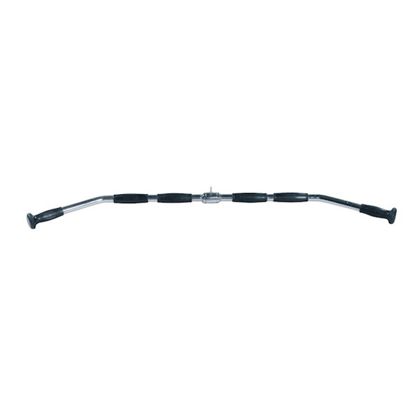 "York 48"" Lat Pulldown Bar w/ Rubber Grips"