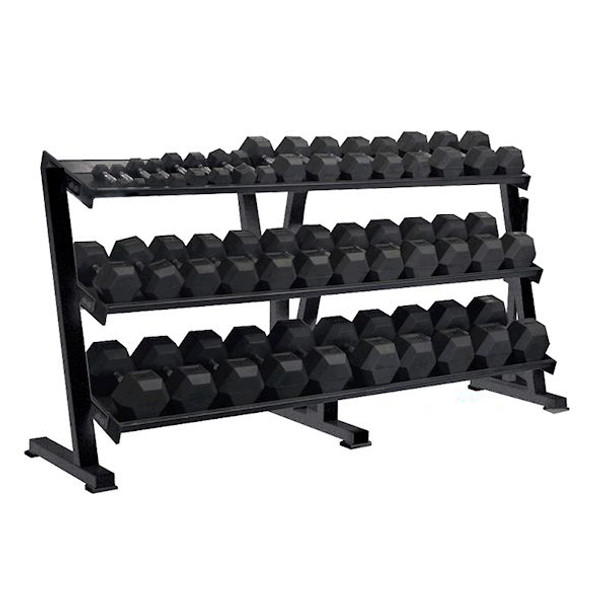 York (#69129) 3-Tier Dumbbell Shelf Rack