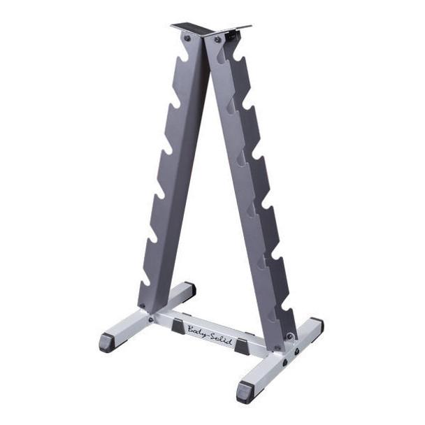 Body Solid (#GDR44) A-Frame Dumbbell Rack