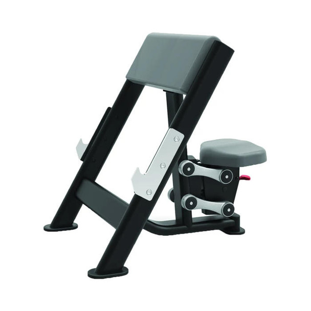 TKO Commercial Seated Preacher Curl Bench