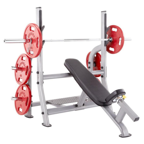 Steelflex Commercial Incline Olympic Bench Press