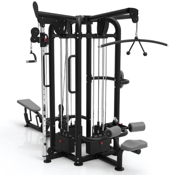 TKO Commercial 4-Stack Jungle Gym