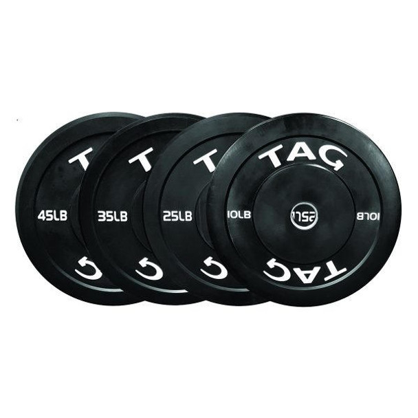 TAG Fitness Olympic Bumper Plates