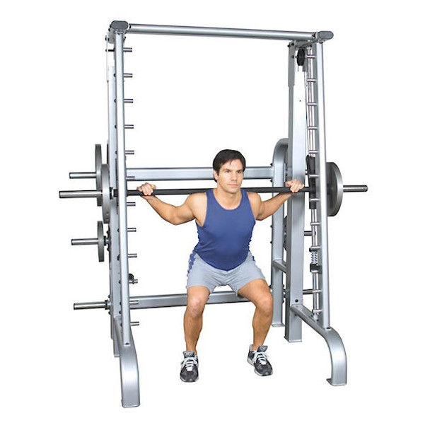 Inflight Fitness Counterbalanced Smith Barbell Machine