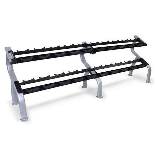 Troy (#DR-10) 2-Tier Dumbbell Rack